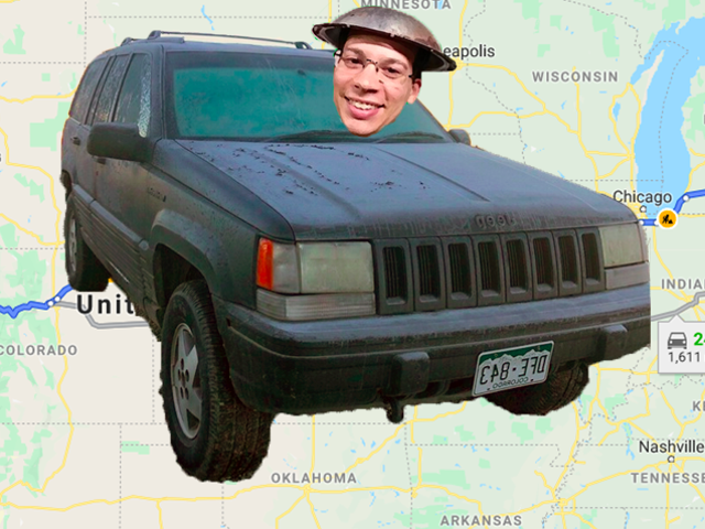 Here's My Idiotic Plan To Drive A Broken 260,000-Mile 'Holy Grail Of Jeep Grand Cherokees' Across The Country