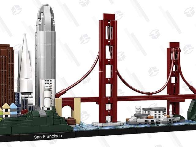 Skip the Trip to San Francisco and Build This $40 LEGO Kit Instead