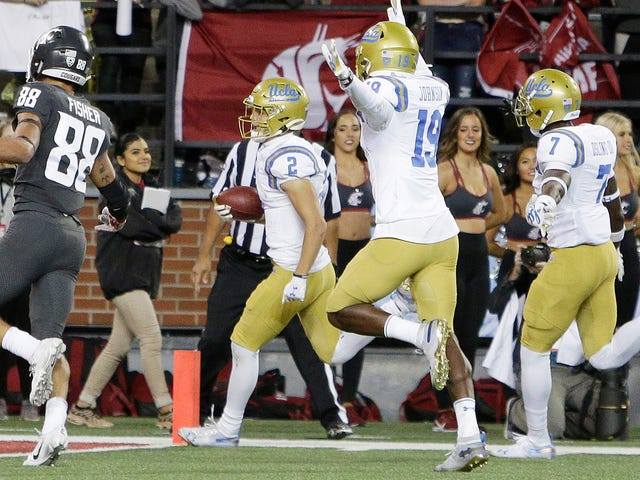 UCLA Scored 50 Points In 20 Minutes For A Psychedelic Comeback Against Washington State