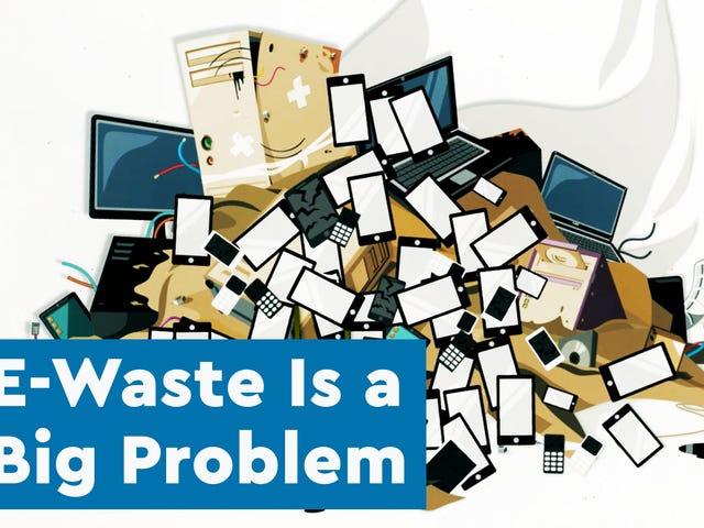 Sådan fjerner du din gamle elektronik uden at ødelægge planeten