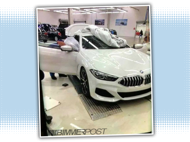 This Is The New BMW 8 Series Way Before You're Supposed To See It