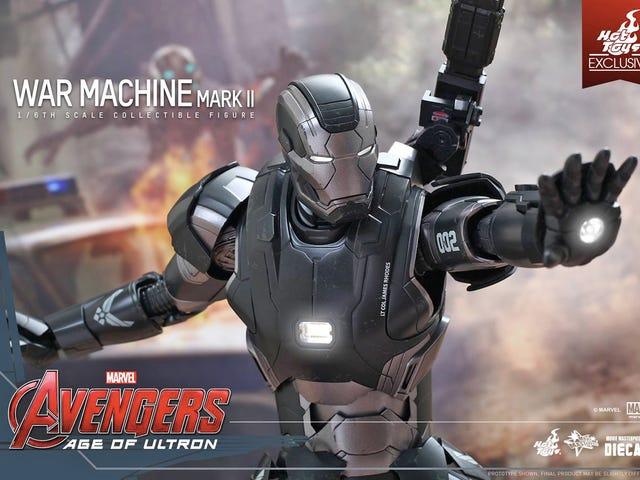 Denne sjette våbenkrigsmaskine vil få dig til at ønske din egen skulderkanon