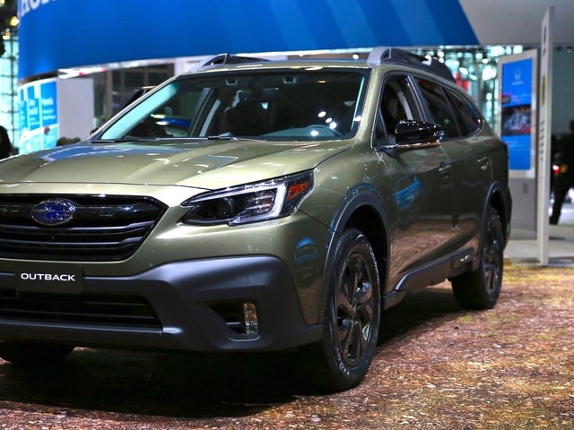 The 2020 Subaru Outback Gets a 260 HP Boxer Engine And a Giant Tablet Screen
