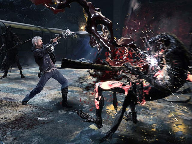 """<a href=https://kinjadeals.theinventory.com/jackpot-devil-may-cry-5-is-just-45-right-now-1834418637&xid=17259,15700023,15700043,15700186,15700190,15700256,15700259,15700262,15700265,15700271 data-id="""""""" onclick=""""window.ga('send', 'event', 'Permalink page click', 'Permalink page click - post header', 'standard');"""">Jackpot!</a>  <a href=https://kinjadeals.theinventory.com/jackpot-devil-may-cry-5-is-just-45-right-now-1834418637&xid=17259,15700023,15700043,15700186,15700190,15700256,15700259,15700262,15700265,15700271 data-id="""""""" onclick=""""window.ga('send', 'event', 'Permalink page click', 'Permalink page click - post header', 'standard');""""><i>Devil May Cry 5</i> apenas US $ 40, agora</a>"""