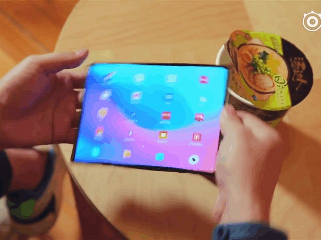 Xiaomi có vẻ gần như giải phóng đối thủ thứ ba trong cuộc chiến điện thoại có thể gập lại