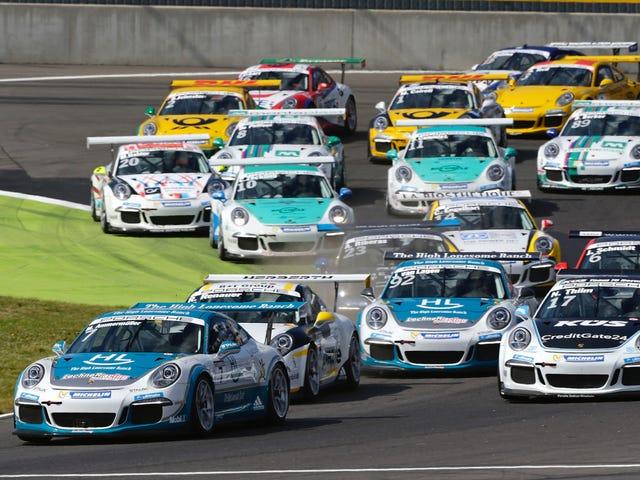 [Có một lĩnh vực xe đua tốt hơn cho một người hâm mộ 911 hơn so với Porsche Carrera Cup?