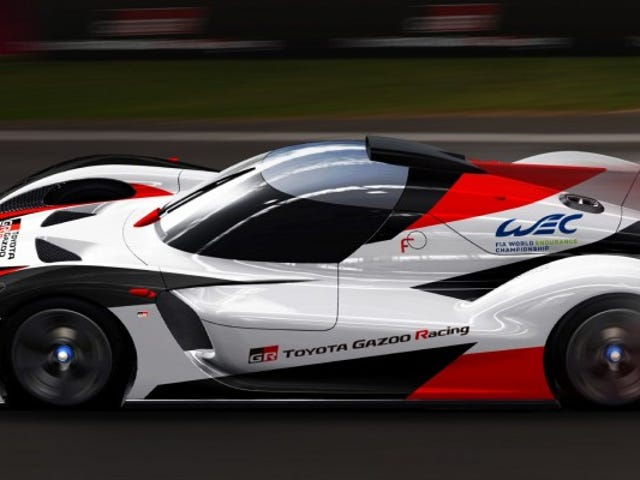 Toyota Is Definitely Going To Stick With This Endurance Racing Thing