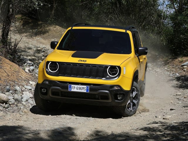 The Renegade Trailhawk gets a turbo for 2019.