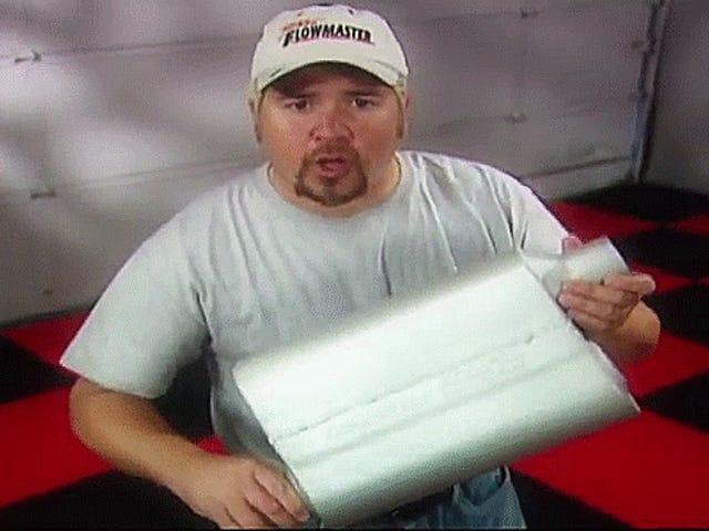 Innan han förstörde mat var Guy Fieri Shilling ljuddämpare på TV