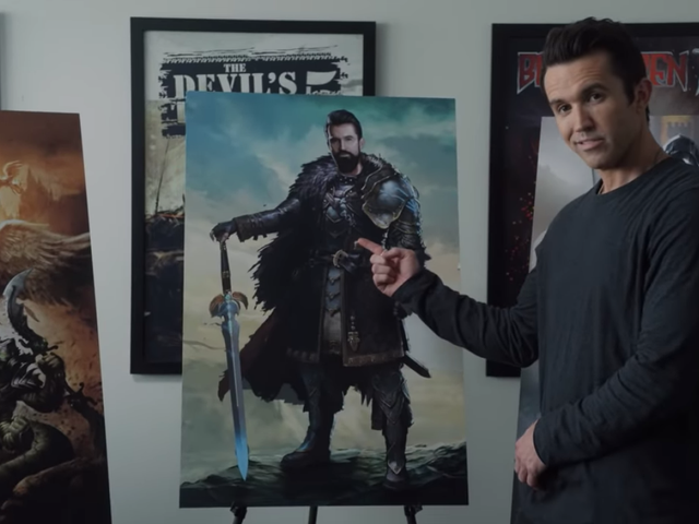 Rob McElhenney is a bad boss in the trailer for Apple TV+ comedy Mythic Quest: Raven's Banquet