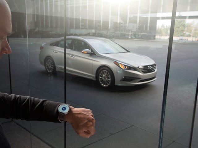 Hyundai's Smartwatch App kan du finde, starte og låse din bil op