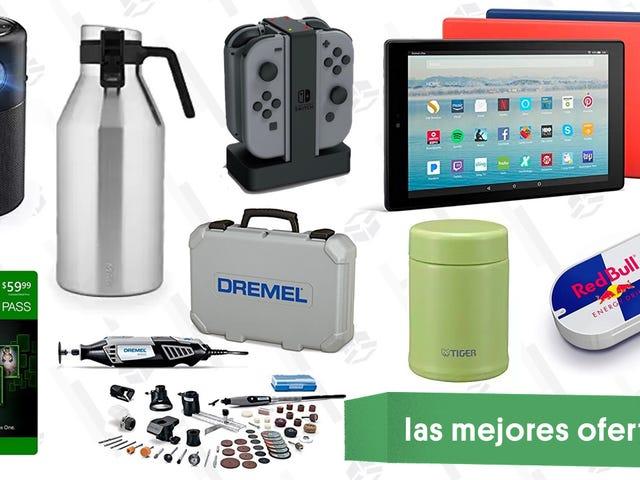 Las mejores ofertas de este martes: Fire tablets, Dremel, proyector portátil y más