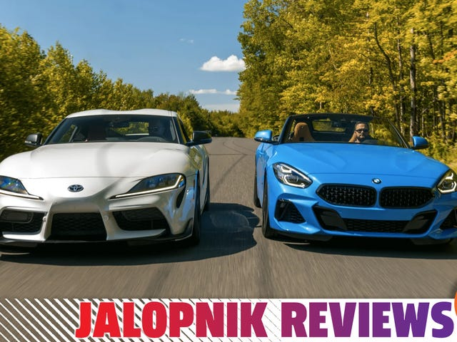 Why I Actually Prefer The BMW Z4 To The 2020 Toyota Supra