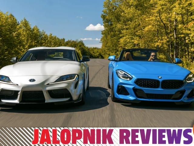 Hvorfor foretrækker jeg faktisk BMW Z4 frem for 2020 Toyota Supra