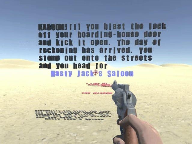 Permainan Barat Di mana Pemain Secara harfiah Menembak Kisah