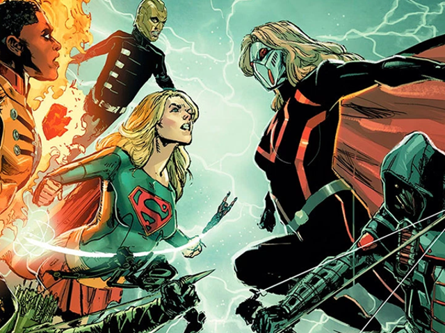 This Year's DC/CW Crossover Goes Into 'Crisis' Mode With Evil Versions of Supergirl, Flash, and Green Arrow