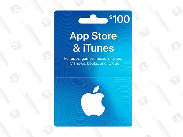 Save $20 on a $100 Apple Gift Card for Black Friday