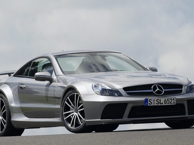 The Merc SL65 AMG Black Is The Most Menacing Car In Existence