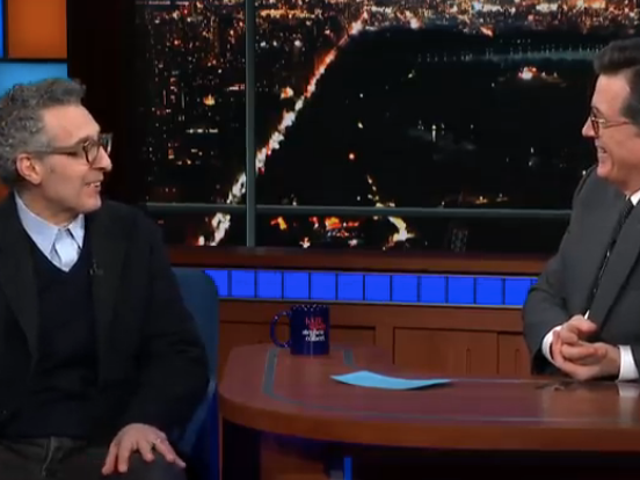 John Turturro shows Stephen Colbert his dance moves, including the Jesus