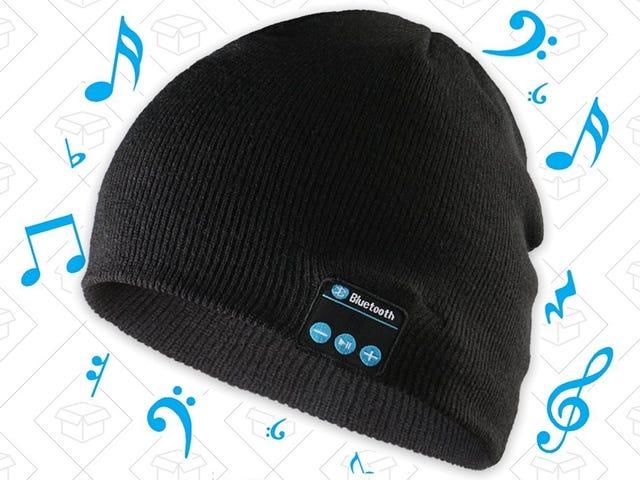 У этой гениальной $ 9 Beanie есть Bluetooth-наушники, встроенные прямо в