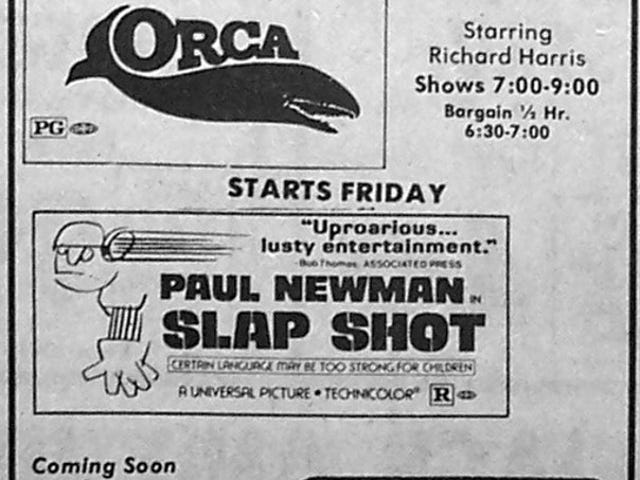 1977 Movie Ads
