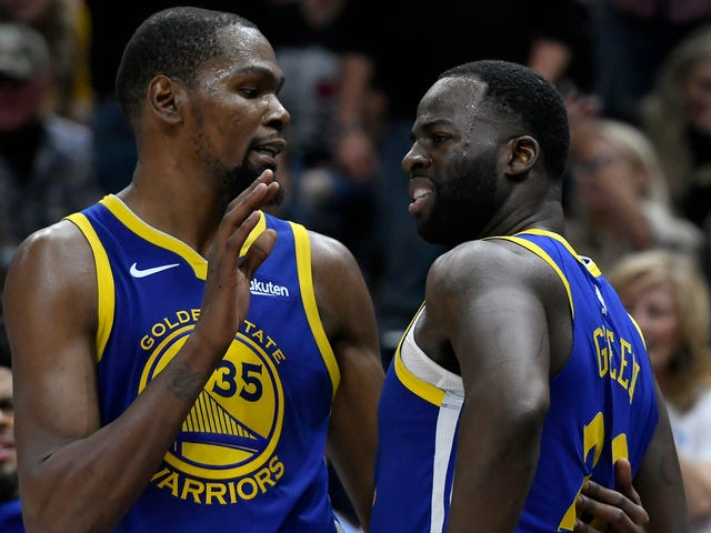 Most Annoying Warriors Player Says He And Second-Most Annoying Warriors Player Are Cool Now