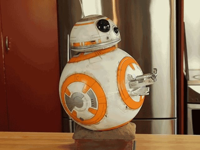 How to Turn a BB-8 Toy Into an Authentic-Looking Movie Prop