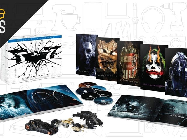 Buy The Dark Knight Blu-Ray Trilogy, Get the New Batman Game For $2