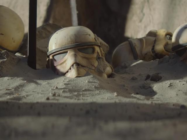 """Mandaloorialaisella on """"dramaattinen"""" Tähtien sota -poileri ensimmäisessä jaksossa"""