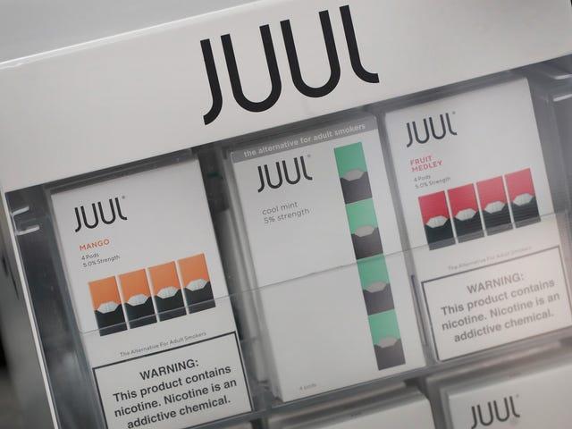 Πάνω από 1.000 πλαστά χαρτόνια Juul που περιέχουν αμφισβητούμενες ουσίες που κατασχέθηκαν από την προστασία συνόρων