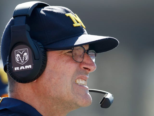 Former Michigan Player Tagged Jim Harbaugh In Series Of Vaguely Threatening Tweets [Update]