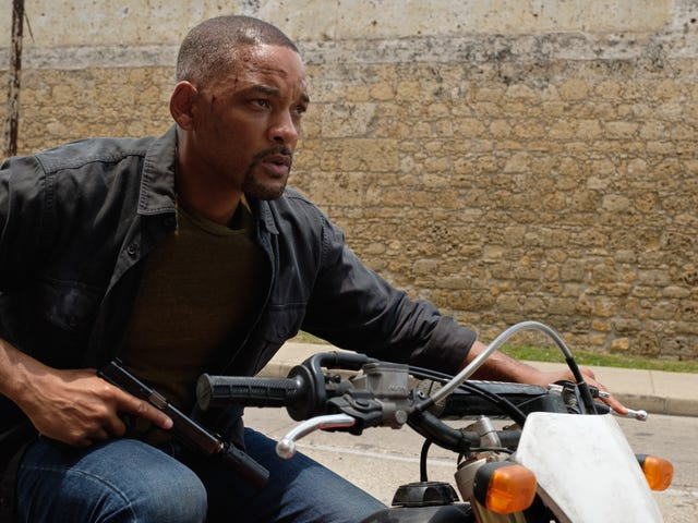 Will Smith luta contra o idiota de Ang Lee, mas emocionante Gemini Man