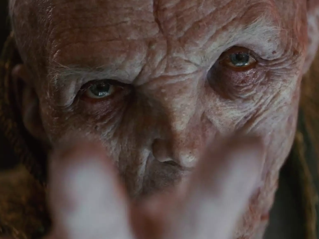 The Last Jedi's VFX Supervisors Shed Light On The Complex Process of Bringing Snoke to Life