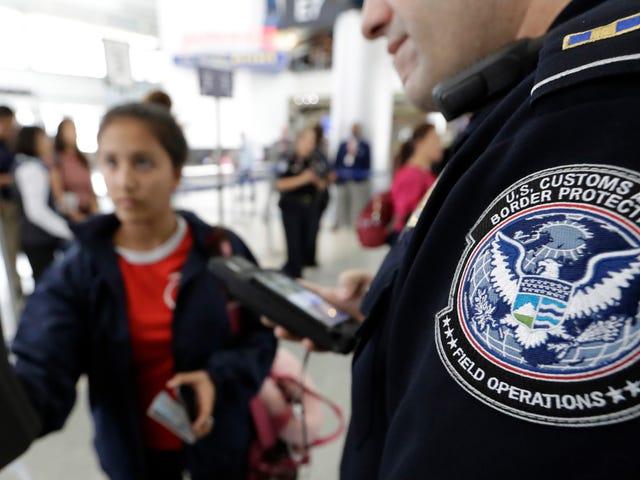 Tulli- ja rajavartiolaitos kertoo kongressille, että kasvotunnistuksen käyttö on täysin laillista amerikkalaisille