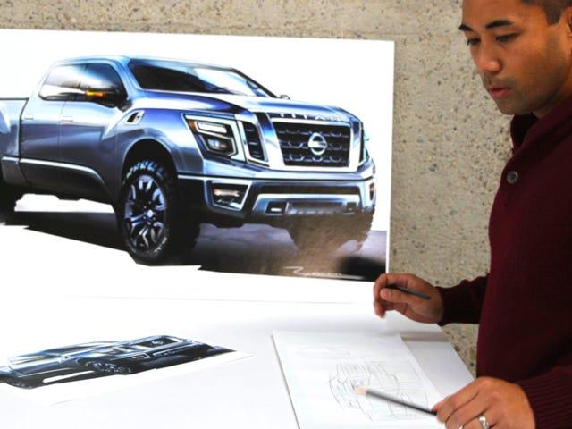 Esto es lo que Nissan estaba pensando cuando diseñaron el nuevo Titan