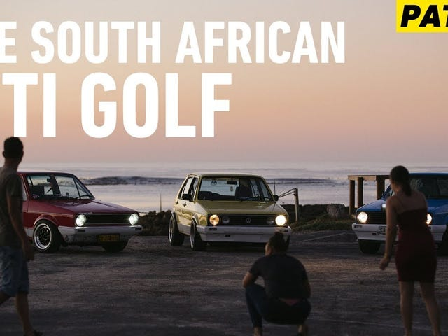 दक्षिण अफ्रीकी CitiGolf पर एक शानदार वीडियो