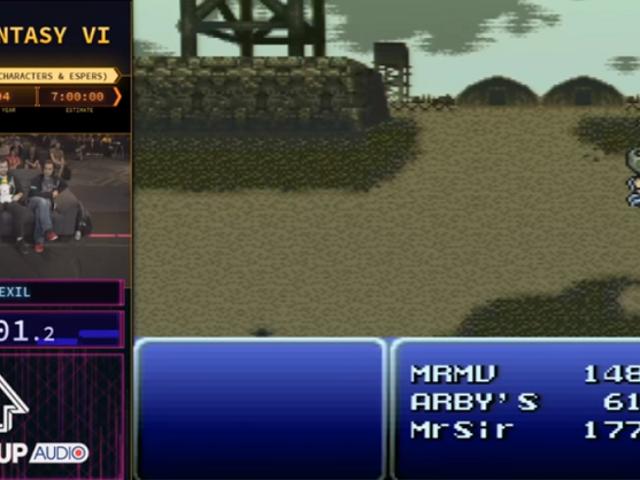Final Fantasy VISpeedrun Is A Seven-Hour Master Class