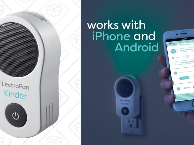 This Kid-Friendly White Noise Machine Is Also a Nightlight, and It's Never Been Cheaper