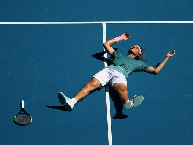 Here Are Some Things Stefanos Tsitsipas Said Right After The Biggest Moment Of His Career