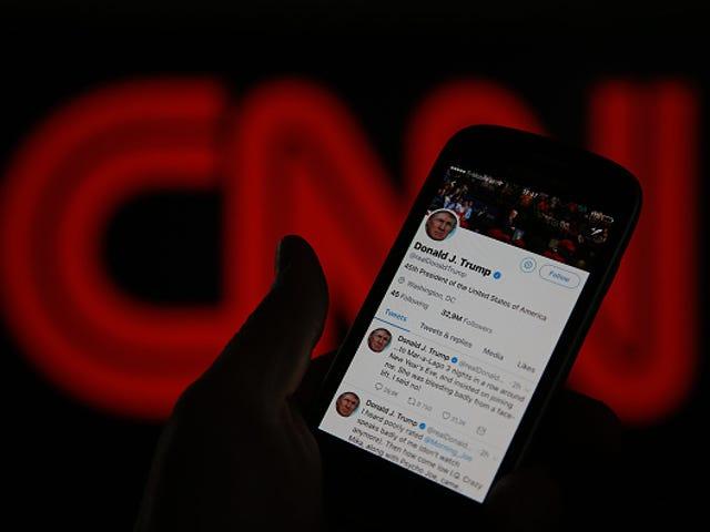 Trump's Anti-CNN Video Has Racist Roots