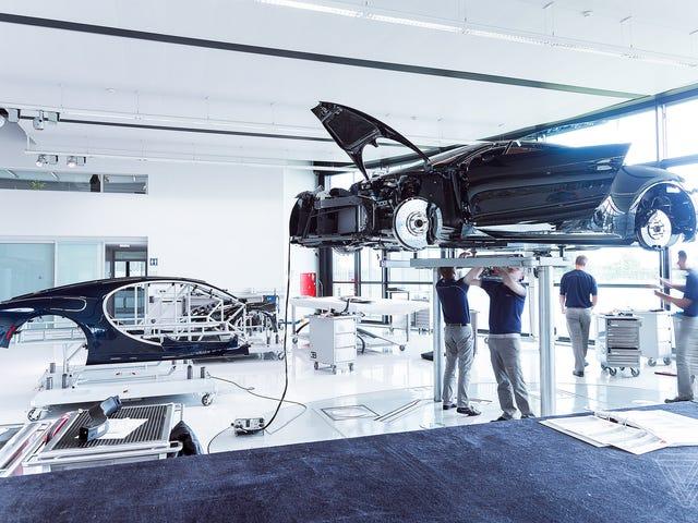 Tests de pré-livraison Bugatti Chiron