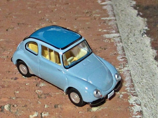 Land of the Rising Sun-Day: Subaru 360 - It's Cheap, and it's Ugly