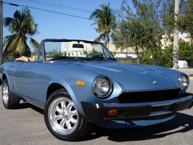 For $9,990, Could This 1981 Fiat 124 Sport Spider Make You Forget The New Miata-Based One?