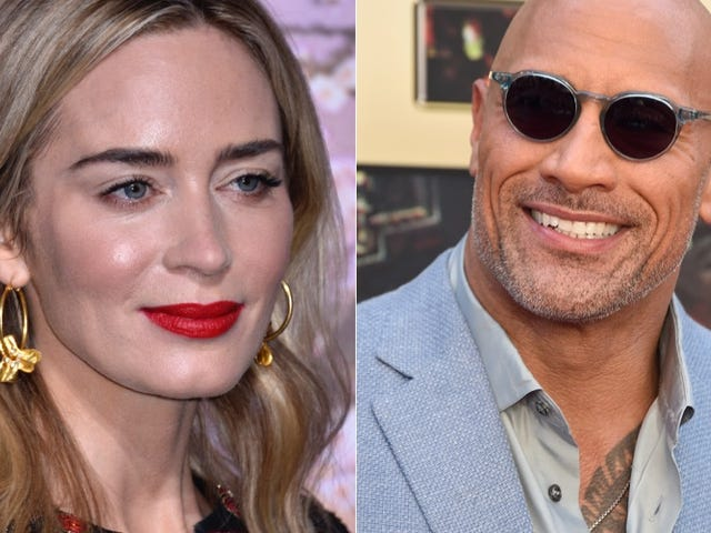 Is Emily Blunt Getting Paid Half of What Co-Star The Rock Is Earning for Jungle Cruise?