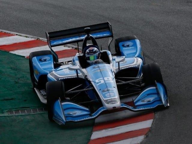 Max Chilton Kicks Off IndyCar Season Quickest in Laguna Seca Test