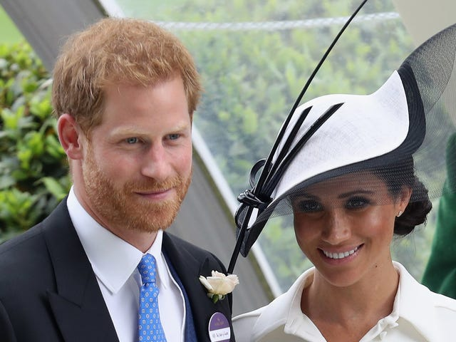 Meghan Markle Wore a Very Nice Hat