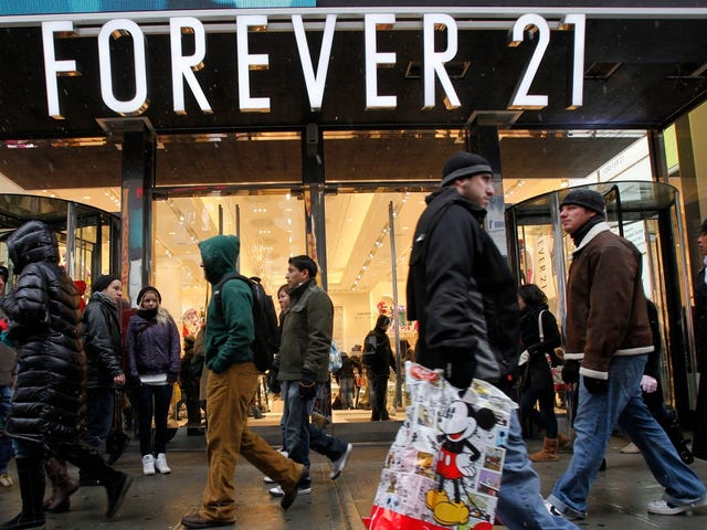 Hackers Broke Into Forever 21's Payment System For Over Half of 2017