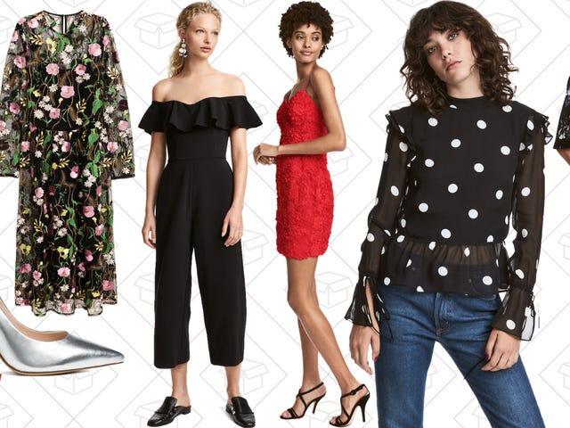 Det är inte för tidigt att tänka på Party Garderob, speciellt med denna en-dagars H & M-försäljning