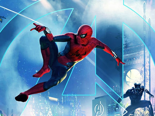 The New Marvel Section of the Disneyland Resort Will Open in 2020