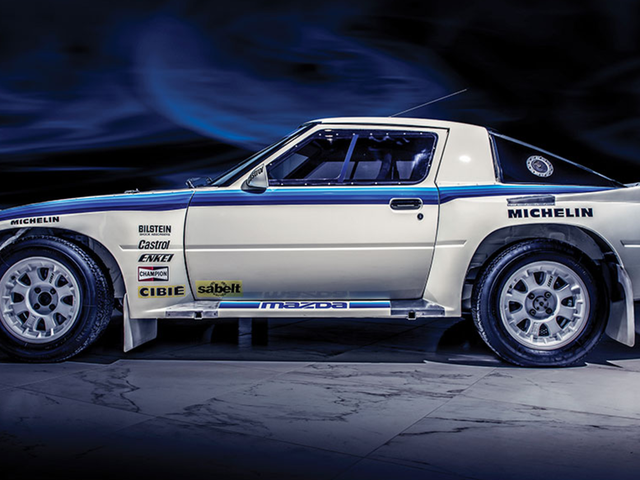 This Unbelievable Mazda RX-7 For Sale Is Probably The Only Unused Group B Car In The World